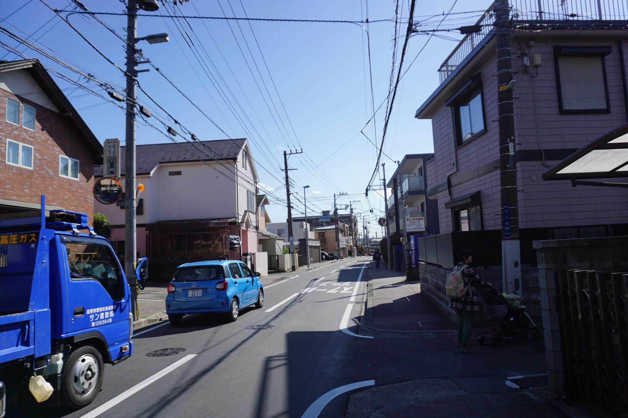 三ツ境駅からの道順4